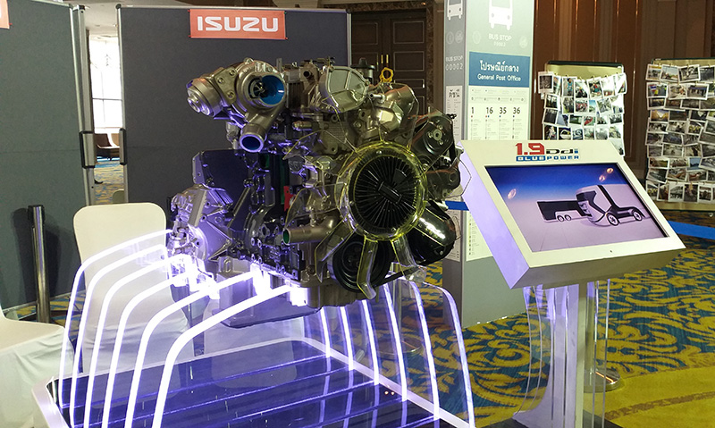 เครื่องยนต์ใหม่ ISUZU ขนาด 1.9 ลิตร ประหยัดน้ำมัน