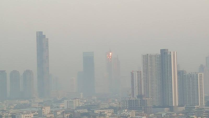 กรีนพีซจี้รัฐยกร่างมาตรฐาน PM 2.5 ใหม่ ชี้พื้นที่หลายแห่งของไทยยังเผชิญมลพิษทางอากาศ เป็นภัยต่อสุขภาพ