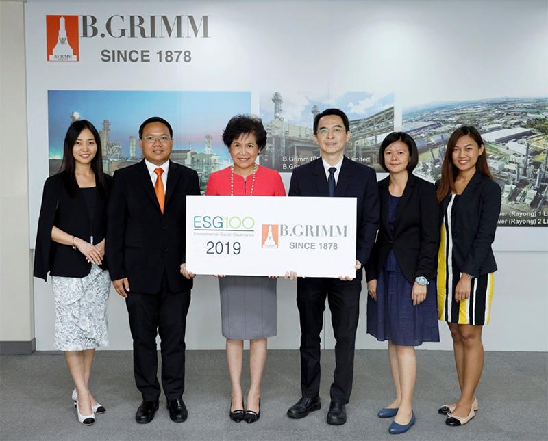 BGRIM คว้าหุ้นยั่งยืน ESG 100 จากสถาบันไทยพัฒน์ต่อเนื่องเป็นปีที่ 2