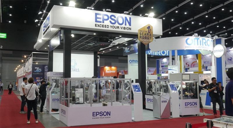 EPSON ในงาน Manufacturing Expo 2019