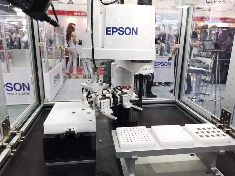 เอปสันระดมทัพโซลูชั่นรองรับ Industry  4.0 ในงาน Manufacturing Expo 2019