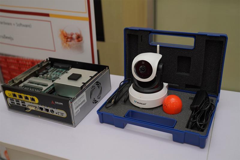 กล้อง AI นับไข่สำหรับสมาร์ทฟาร์ม