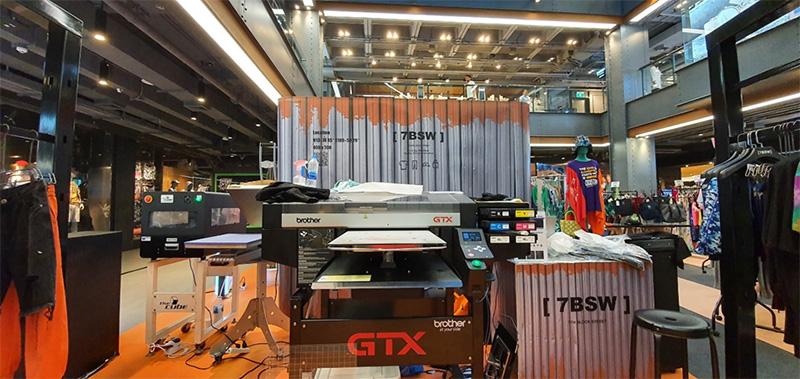 Brother GTX เครื่องพิมพ์ผ้าระบบดิจิทัล
