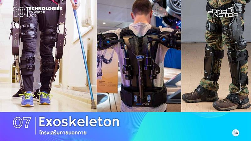 โครงเสริมภายนอกกาย (Exoskeleton)