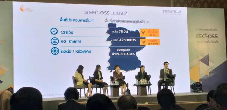 EEC เปิดให้บริการ EEC - OSS ยื่นคำขออนุมัติ อนุญาต และชำระเงินผ่านออนไลน์