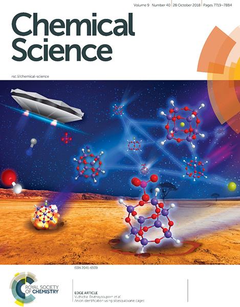 ผลงานเซ็นเซอร์ได้รับเลือกขึ้นปกวารสาร Chemical Science ฉบับเดือนตุลาคม 2561 เพื่อประโยชน์แก่นักวิทยาศาสตร์ทั่วโลก