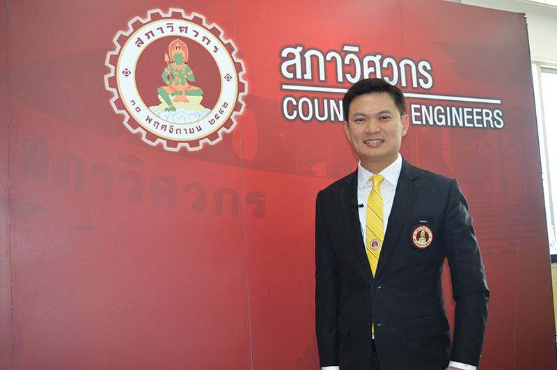 """ศ. ดร. สุชัชวีร์ สุวรรณสวัสดิ์ นายกสภาวิศวกร สมัยที่ 7 """"เดินหน้าปฏิรูปสภาวิชาชีพวิศวกร ยกระดับศักยภาพวิศวกรไทยให้แข่งขันได้ในระดับโลก"""""""
