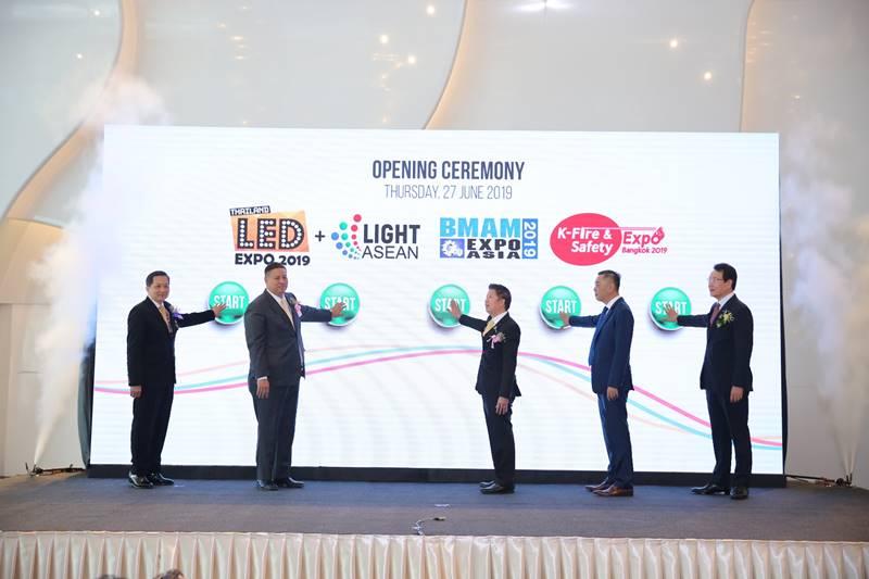 ผสานนวัตกรรมอนุรักษ์พลังงาน กับ ระบบอัจฉริยะ ในงาน BMAM Expo Asia, K-Fire & Safety Expo Bangkok, และLED Expo Thailand + Light ASEAN