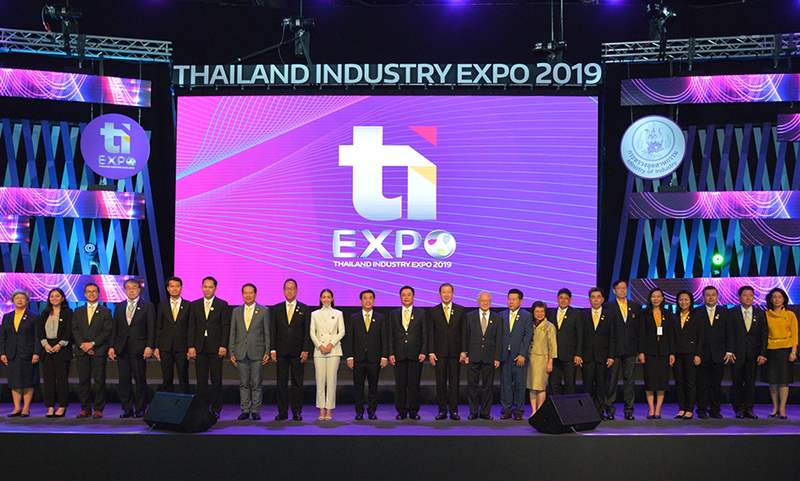 งาน Thailand Industry Expo 2019