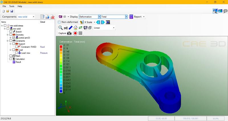 เอ็มเทค พัฒนาซอฟต์แวร์ CAE 3D สัญชาติไทย ช่วยคำนวณทางวิศวกรรม เปิดให้ติดตั้งและใช้งานฟรี