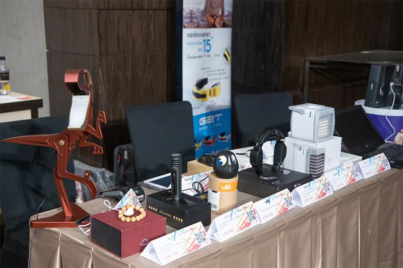 บูธแสดงสินค้าและนวัตกรรมจากไต้หวัน