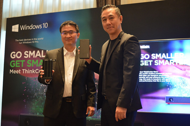 Lenovo เผยโฉมคอมพิวเตอร์เดสก์ท็อปขนาดเล็กที่สุดในโลก ตอบโจทย์การใช้งานลูกค้ากลุ่มธุรกิจและกลุ่มองค์กร