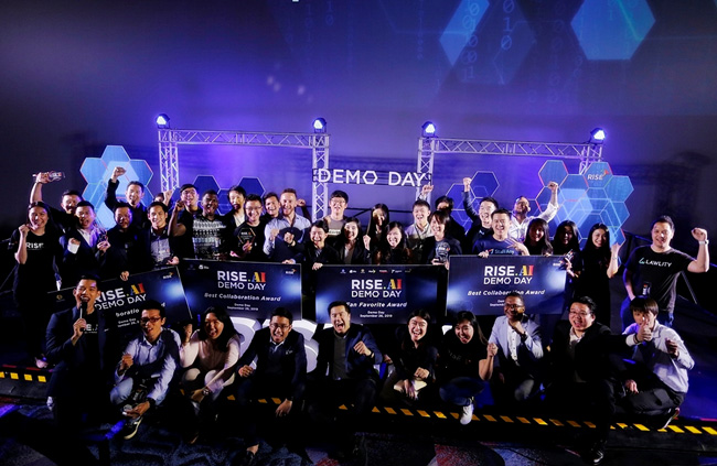 RISE. AI Demo Day โชว์ผลงาน 30 สตาร์ทอัพระดับโลก ตอบโจทย์การใช้ AI ในองค์กร