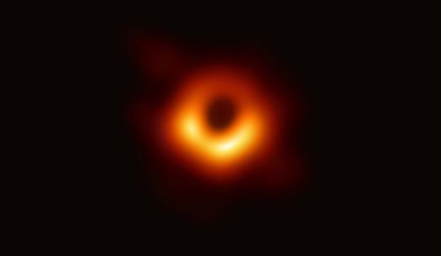 ภาพถ่ายแรกสุดของหลุมดำ