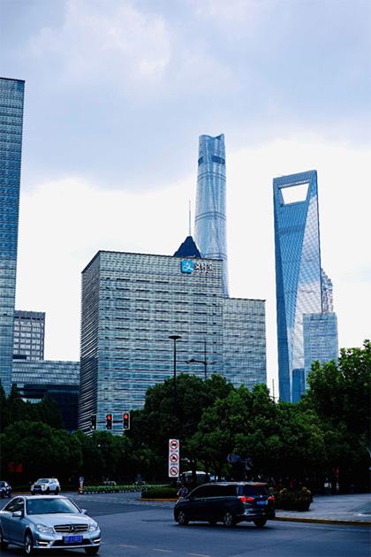 ตึก Alipay ในนครเซี่ยงไฮ้