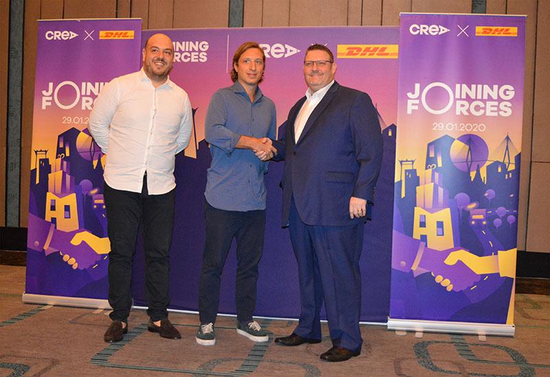 CREA จับมือ DHL นำเทคโนโลยีและโซลูชั่นโลจิสติกส์ เสริมแกร่งผู้ประกอบการธุรกิจอีคอมเมิร์ซในไทย