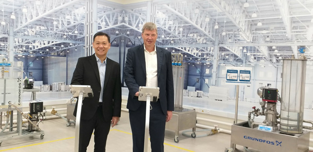 Grundfos launches first digital lab in Singapore to drive adoption of smart water solutions
