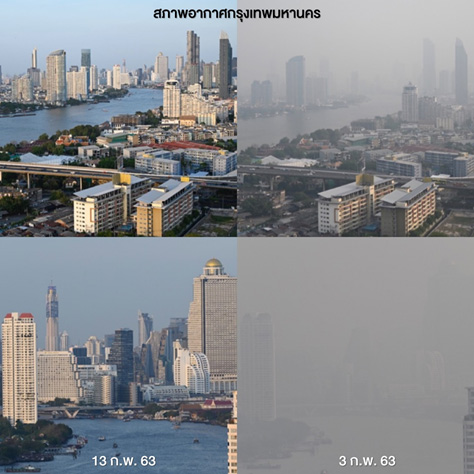 วิจัยหาต้นตอฝุ่นพิษ PM 2.5