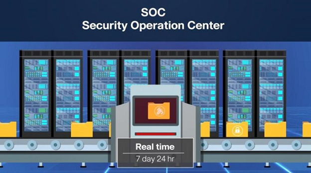 DCS SOC As A Service บริการเฝ้าระวังความปลอดภัย Network และ IT แบบ Real Timeตามมาตรฐานโลก