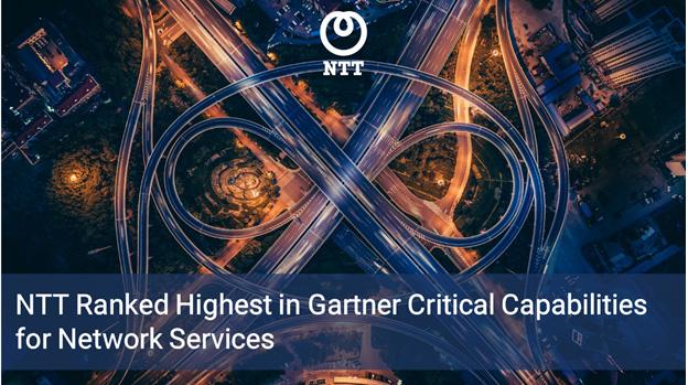 เอ็นทีที คว้าอันดับสูงสุดจาก Gartner Magic Quadrant ด้านการให้บริการเครือข่ายระดับโลก