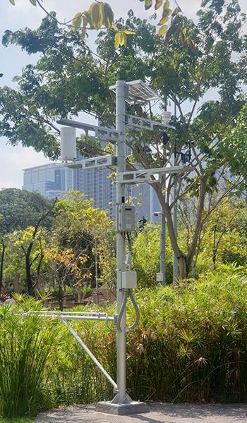 ติดตั้งระบบเซ็นเซอร์เพื่อการจัดการน้ำในอุทยาน 100 ปี จุฬาลงกรณ์มหาวิทยาลัย