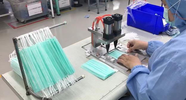 อาจารย์ มจธ. ช่วยโรงงานผลิตอุปกรณ์ - ปรับปรุงกระบวนการ เพิ่มกำลังผลิตหน้ากากอนามัย 30%