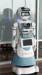 หุ่นยนต์ SOFA (โซ่ฟ้า) หุ่นยนต์ AI ที่สามารถตอบคำถาม แสดงผล และโต้ตอบกับผู้ใช้งานในเรื่องที่อยู่บนฐานข้อมูล