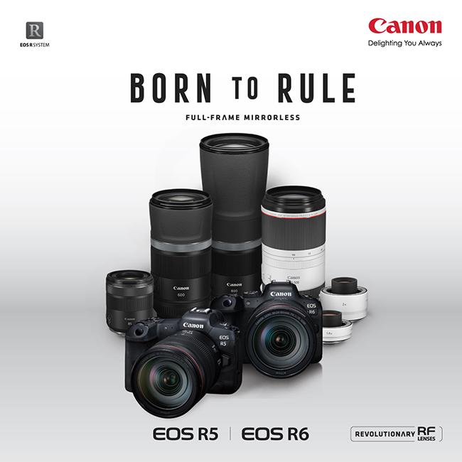 แคนนอน เปิดตัวเรือธงใหม่ กล้องมิเรอร์เลสฟูลเฟรม EOS R5 และ EOS R6 พร้อมรุกตลาดทุกเซกเมนต์
