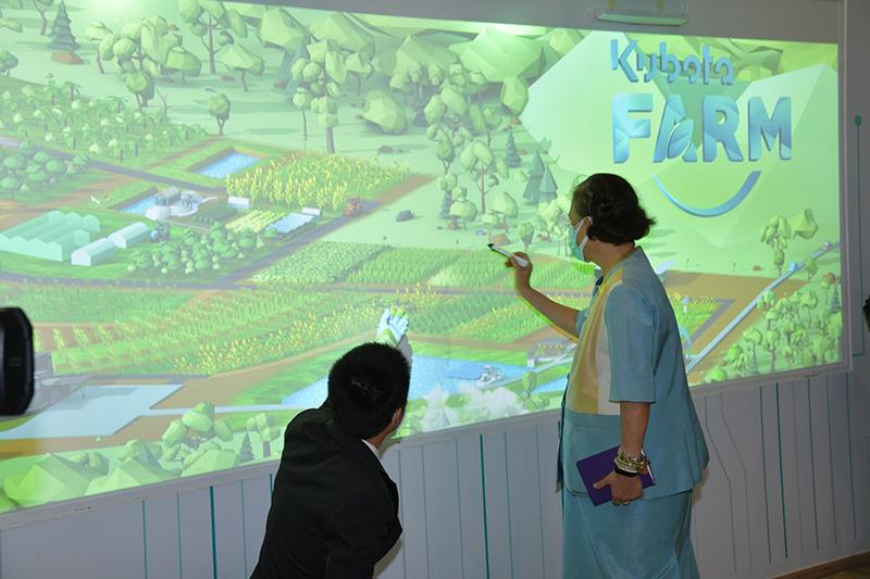 """สมเด็จพระกนิษฐาธิราชเจ้า กรมสมเด็จพระเทพรัตนราชสุดาฯ ทรงเปิด """"คูโบต้าฟาร์ม"""" สร้างประสบการณ์เกษตรสมัยใหม่ในอาเซียน"""