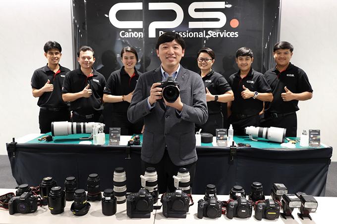 """แคนนอน ชูศักยภาพ """"Canon Camera Onsite Service Plus"""" ตอบโจทย์ลูกค้าระดับองค์กรธุรกิจ"""