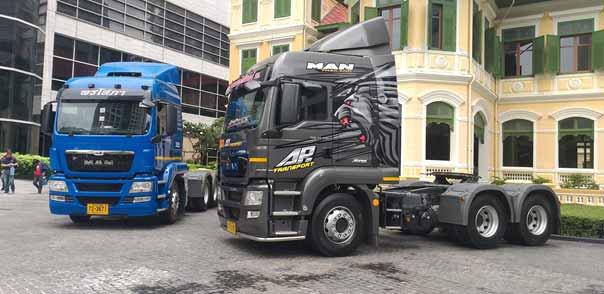 รถบรรทุกหัวลาก MAN รุ่น TGS 6x4