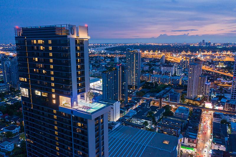 """พาร์ค ลักชัวรี่เครือออริจิ้นเปิดตัว """"ไนท์บริดจ์ไพร์มอ่อนนุช"""" คอนโดหรู 47 ชั้นสูงสุดในย่านอ่อนนุชย่านใหม่ของ""""New Japanese Area"""""""