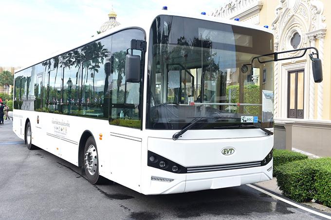 """โครงการพัฒนารถโดยสารไฟฟ้าจากรถโดยสารประจำทางใช้แล้วของขสมก. (City Transit E-buses)"""""""