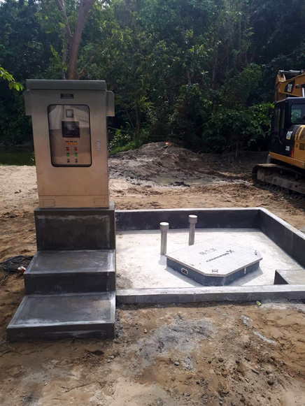 Grundfos launches Prefabricated Pumping Stations to help the Philippine's flood and wastewater management efforts