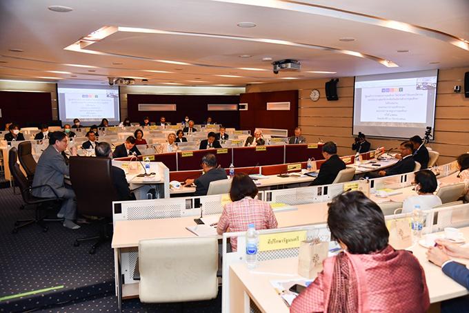 การประชุมคณะกรรมการการอุดมศึกษา(กกอ.) และคณะกรรมการมาตรฐานการอุดมศึกษา (กมอ.)