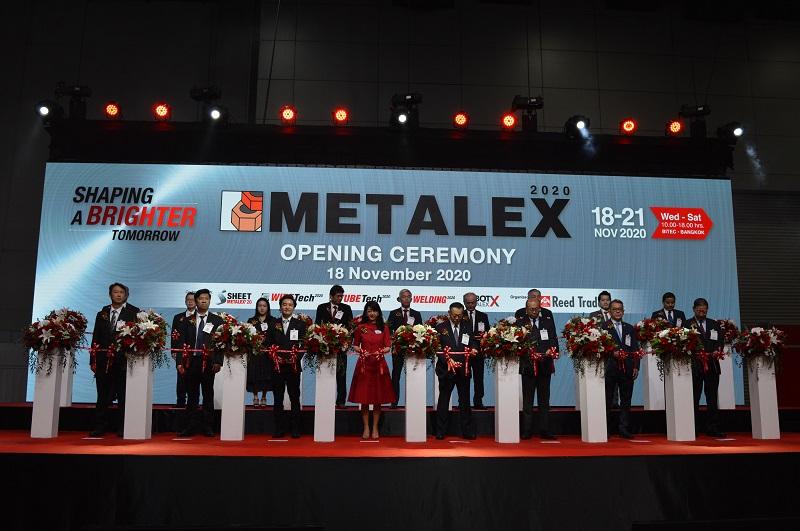 """รี้ดจัดงาน """"METALEX 2020"""" ภายใต้แนวคิด Shaping a Brighter Tomorrow ชูไฮไลท์ 5 กิจกรรม คาดเงินสะพัด 3,000 ล้านบาท"""