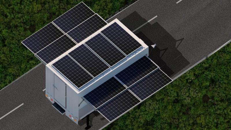"""""""บ้านปู เน็กซ์ อีพรอมต์มูฟ"""" โซลูชันผลิตและกักเก็บไฟฟ้าพลังงานสะอาดเคลื่อนที่คันแรกในไทย"""