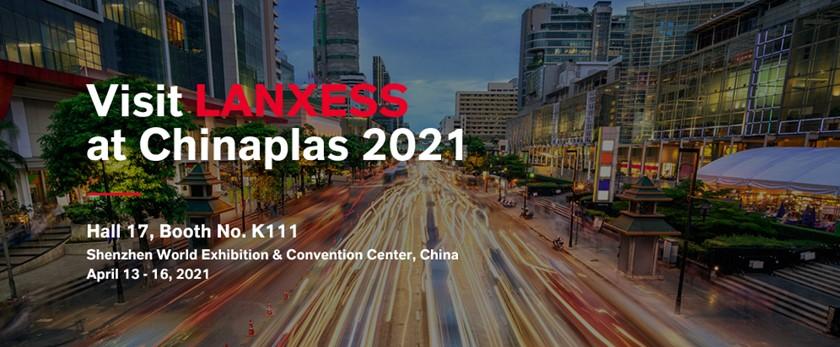 แลนเซสส์ (LANXESS) จัดแสดงนวัตกรรมใหม่ในงาน CHINAPLAS 2021 พร้อมเชิญร่วมชมงาน -ฟังสัมมนาด้านเทคนิคผ่านโปรแกรมเสมือนจริง