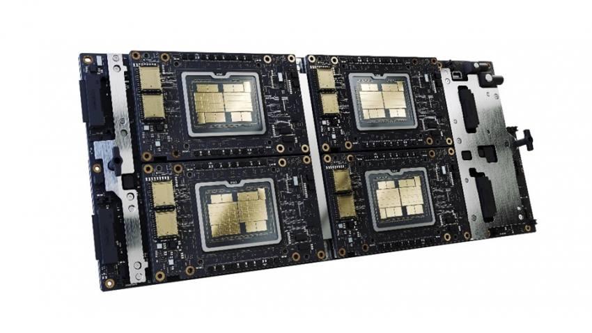 """GPU บนระบบ Xe-HPC (ภายใต้โค้ดเนม """"Ponte Vecchio"""") ในรูปแบบฟอร์มแฟกเตอร์และระบบย่อยของ OCP Accelerator Module (OAM)"""