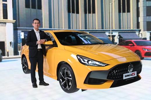 """เอ็มจี เปิดตัว """"ALL NEW MG5"""" รถยนต์สไตล์สปอร์ตคูเป้ซีดาน ชูแนวคิด """"BEYOND"""" พร้อมฟังก์ชั่นกุญแจดิจิทัล ตอบโจทย์คนรุ่นใหม่ ตลาดอุตสาหกรรมไทย นวัตกรรมอุตสาหกรรมไทย พัฒนาอุตสาหกรรมไทยให้ก้าวหน้า engineeringtoday 77"""
