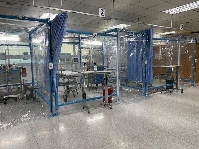 ห้องความดันลบสำหรับผู้ป่วย COVID-19