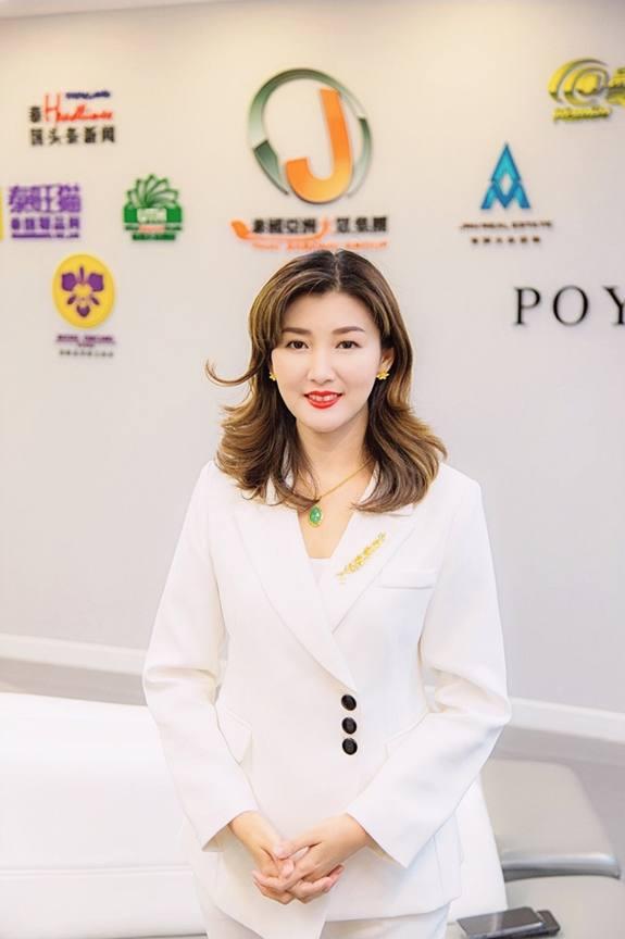 หลุ่ย แซ่กั๊ว ประธานกรรมการบริหารใหญ่ บริษัท ไทยเจียระไน กรุ๊ป จำกัด หนึ่งในบุคคลสำคัญด้านสื่อไทย-จีน