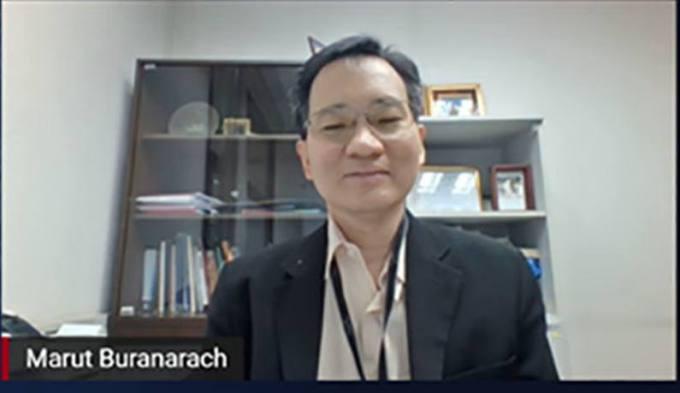 ดร.มารุต บูรณธัช ผู้อำนวยการกลุ่มวิจัยวิทยาการข้อมูลและการวิเคราะห์ ศูนย์เทคโนโลยีอิเล็กทรอนิกส์และคอมพิวเตอร์แห่งชาติ (เนคเทค) สำนักงานพัฒนาวิทยาศาสตร์และเทคโนโลยีแห่งชาติ (สวทช.)